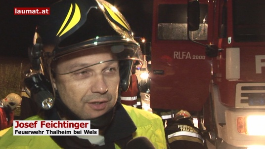 Josef Feichtinger, Feuerwehr Thalheim bei Wels