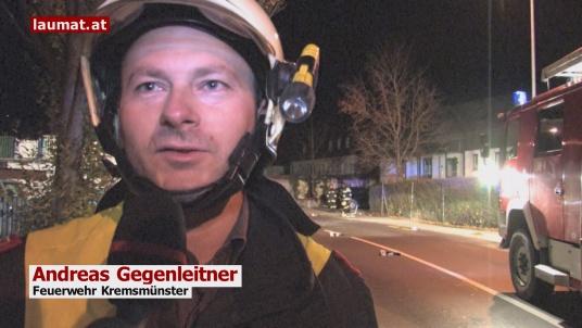 Andreas Gegenleitner, Feuerwehr Kremsmünster