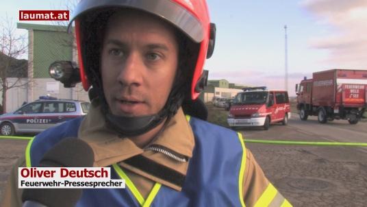 Oliver Deutsch, Feuerwehr-Pressesprecher
