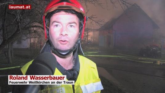 Roland Wasserbauer, Feuerwehr Weißkirchen an der Traun
