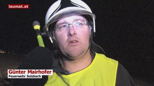 Günter Mairhofer, Feuerwehr Sulzbach