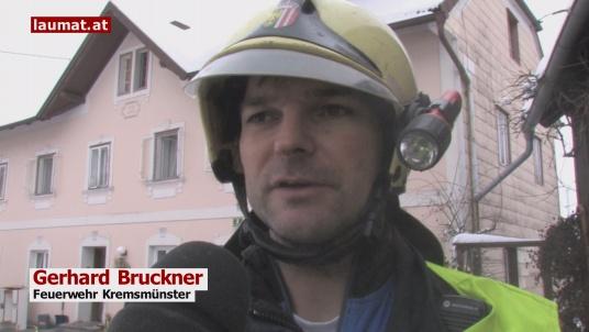 Gerhard Bruckner, Feuerwehr Kremsmünster