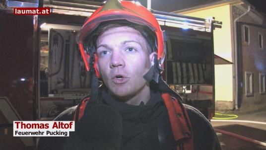 Thomas Altof, Feuerwehr Pucking
