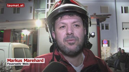 Markus Marehard, Feuerwehr Wels
