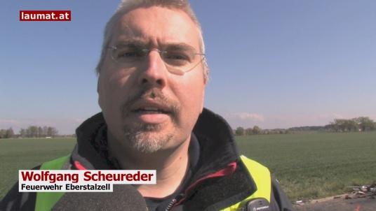 Wolfgang Scheureder, Feuerwehr Eberstalzell