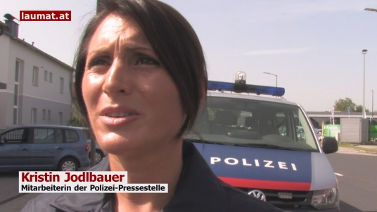 Kristin Jodlbauer, Mitarbeiterin der Polizei-Pressestelle
