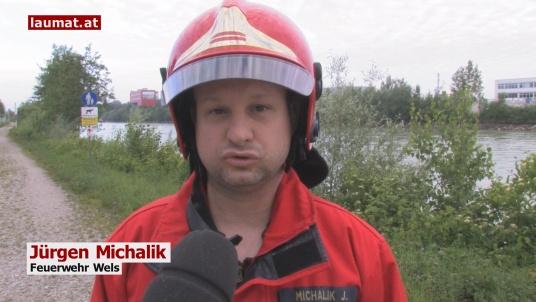 Jürgen Michalik, Feuerwehr Wels