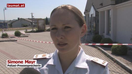 Simone Mayr, Polizei-Pressesprecherin