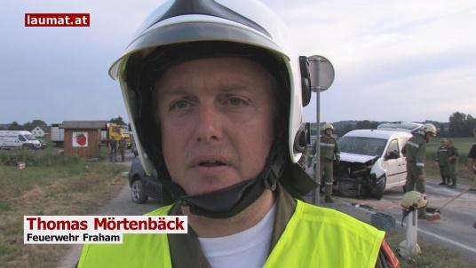 Thomas Mörtenbäck, Feuerwehr Fraham