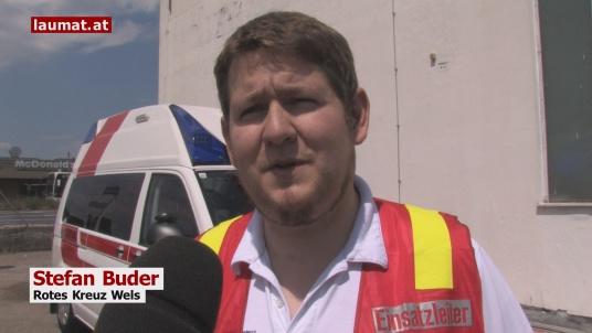 Stefan Buder, Rotes Kreuz Wels