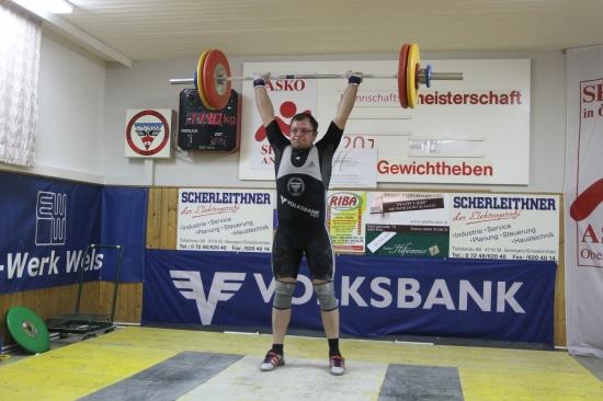 WKG Buchkirchen Wels zeigte starke Leistung im Gewichtheben