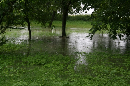 Tagelange Regenfälle