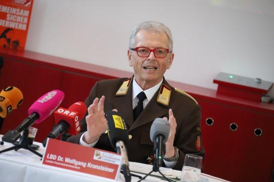 63.205 Einsätze der Feuerwehren in Oberösterreich im Jahr 2017