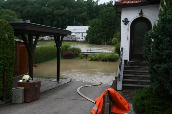 Hochwasser in Kremsmünster