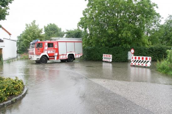 Hochwasser in Ansfelden