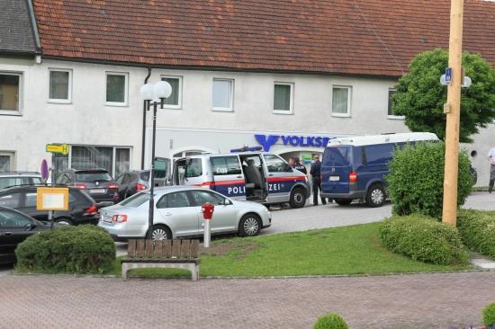 Volksbank in Pfarrkirchen bei Bad Hall überfallen