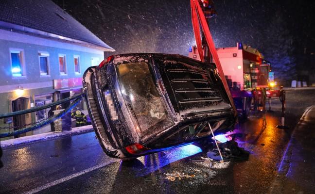 Verkehrsunfall in Ottnang am Hausruck fordert zwei Verletzte