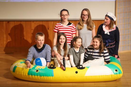 """Jungscharkindern gelang mit """"Jona und der Wal"""" tolle Aufführung eines Kinder-Musicals"""