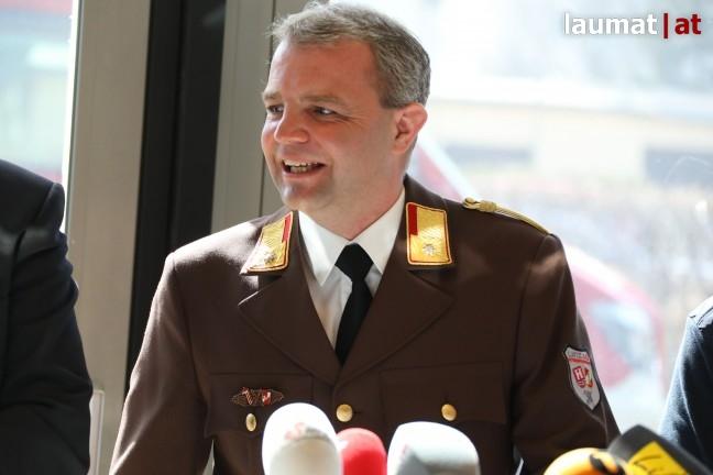 Harald Forstenpointner, Kommandant der Betriebsfeuerwehr Linz AG
