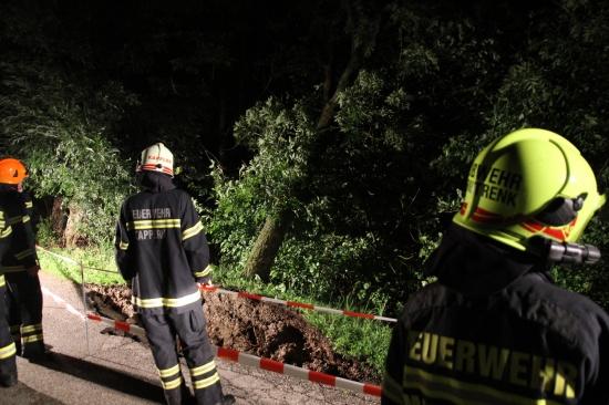Mehrere Feuerwehreinsätze nach heftigem Unwetter