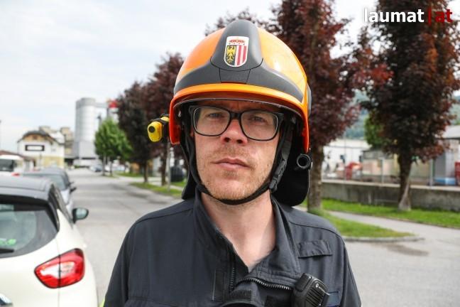 Alexander Mayr, Einsatzleiter Feuerwehr Kirchdorf an der Krems