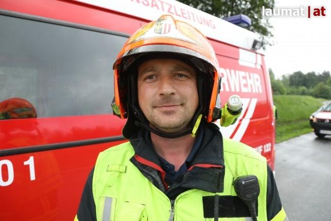 Jürgen Sturm, Einsatzleiter Feuerwehr Laakirchen