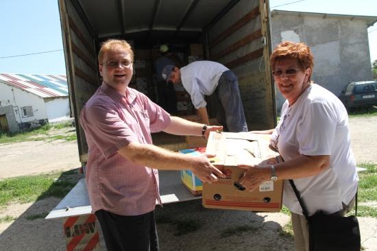 Humanitärer Hilfstransport nach Iasi in Rumänien