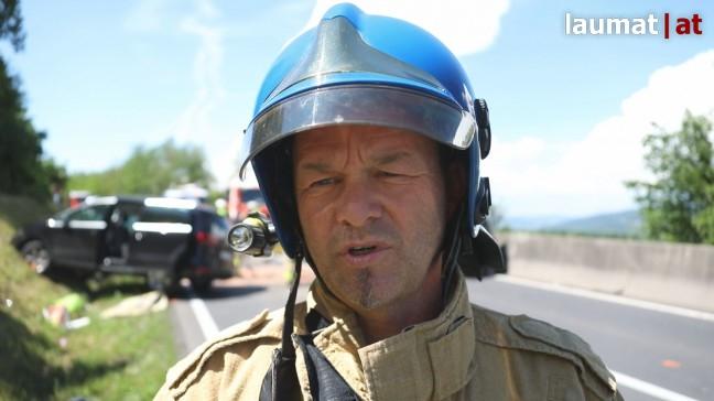 Klaus Thallinger, Einsatzleiter Berufsfeuerwehr Linz