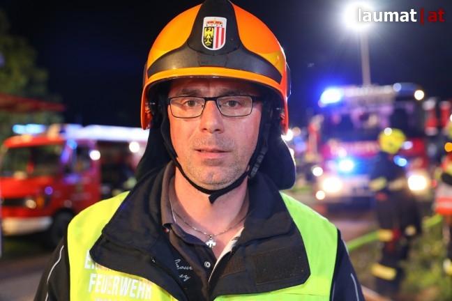 Wolfgang Kaliauer, Einsatzleiter Feuerwehr Wallern an der Trattnach