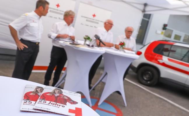 """""""Eine neue Ära beginnt"""" - Pressekonferenz der Rot-Kreuz-Bezirksstelle Wels"""