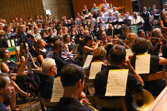 Abschlusskonzert der 40. Chorsingwoche für Kirchenmusik in der Pfarre Wels-St. Josef