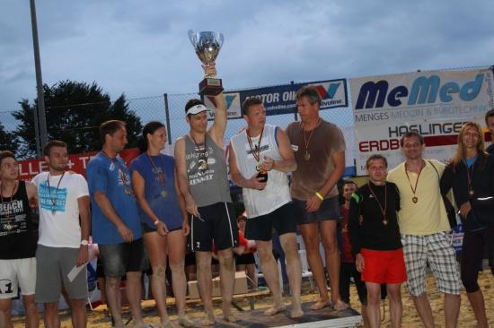 MeMed Beachtrophy in St. Marienkirchen ging mit spannenden Finalspielen zu Ende
