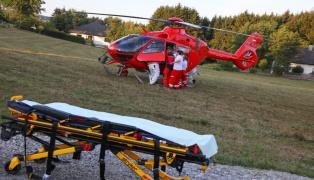 Ärzte optimistisch: Abgetrennter Arm nach Unfall mit Motorsäge wieder angenäht
