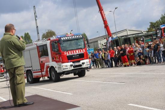 """Gemeinsames Festwochenende """"Gemma Feuerwehr'n schauen"""" in Gunskirchen"""