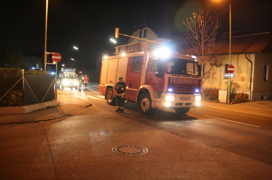 Verkehrsunfall vor Feuerwache Pernau