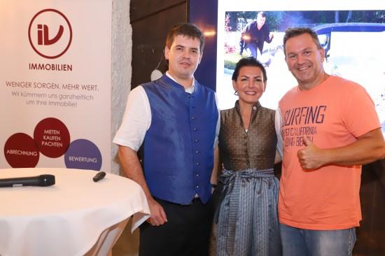 Günther Nussbaum beim Partner- und Kundenevent der IV Immobilien Gruppe in Gunskirchen zu Gast
