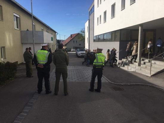 Evakuierungsübung in Freistädter Schule erfolgreich durchgeführt