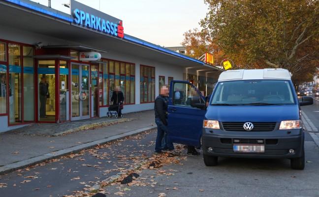 Überfall auf Sparkassenfiliale in Linz-Urfahr