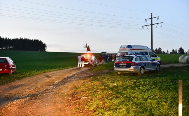E-Mountainbiker (66) bei Unfall in Kefermarkt schwerst verletzt