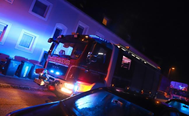 Einsatz der Feuerwehr nach Alarm eines CO-Melders in Wels-Vogelweide