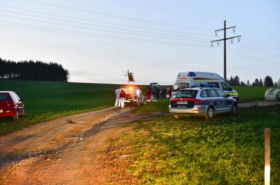 E-Mountainbiker (66) nach Unfall in Kefermarkt im Krankenhaus verstorben