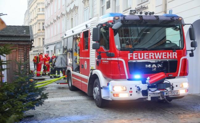 Brand in Wels-Innenstadt fordert zwei Verletzte