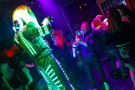 Discothek Go-In feierte 47. Geburtstag mit sensationeller LED-Show