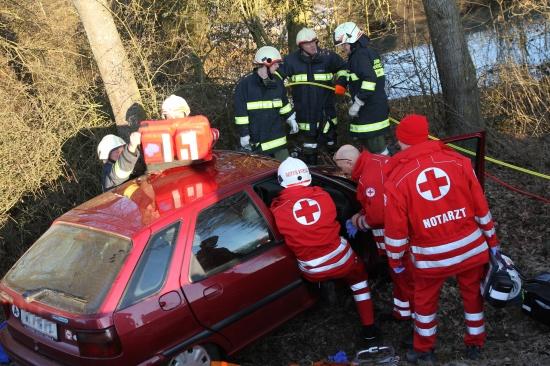 93-Jähriger nach schwerem Verkehrsunfall in Buchkirchen im Krankenhaus verstorben