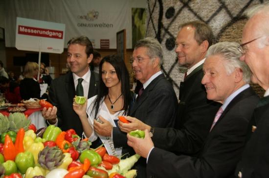 Bundespräsident eröffnete Welser Herbstmesse