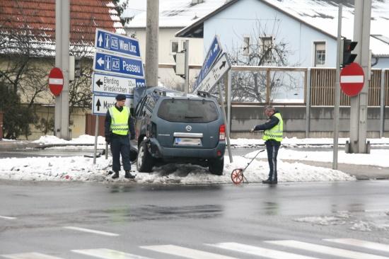 Verkehrsunfall auf Osttangente