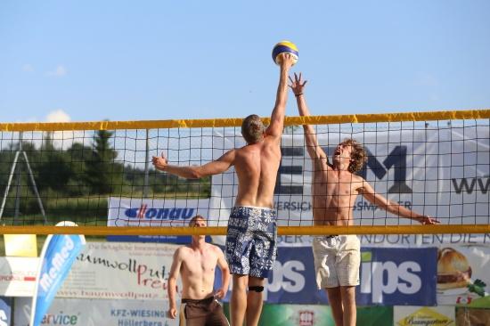 Spannendes Finale bei der MeMed Beachtrophy in St. Marienkirchen an der Polsenz