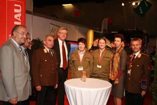 Fachmesse Retter 2010 eröffnet