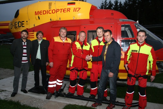 Letzter Einsatz für Airmed 2 aus Scharnstein