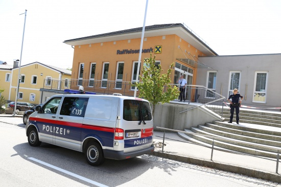 Polizei konnte vier Täter nach Serie von Banküberfällen festnehmen